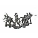Набор оловянных миниатюр Краснофлотцы