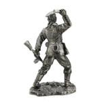 Оловянная миниатюра краснофлотец