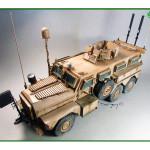 Масштабная модель U.S. Cougar 6x6 MRAP Vehicle. Автор ultratomck.