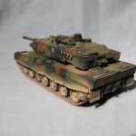 Масштабная модель Leopard 2А5. Автор shuntup.