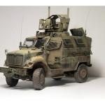 Масштабная модель 4X4 MRAP Armored Fighting Vehicle. Автор thrashcave666.