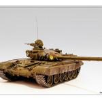 Масштабная модель танка Т-72М1. Автор jzarkov.