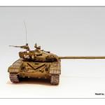 Масштабная модель танкаТ-72М1. Автор jzarkov.